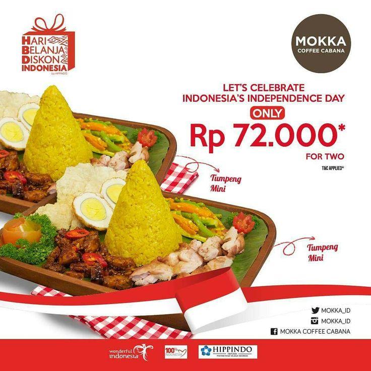 Mokka Coffee Cabana Promo Bulan Merdeka http://www.perutgendut.com/read/mokka-coffee-cabana-promo-bulan-merdeka/6346?utm_content=bufferd3d5c&utm_medium=social&utm_source=pinterest.com&utm_campaign=buffer #Food #Kuliner #Jakarta #Merdeka #Dirgahayu #Indonesia