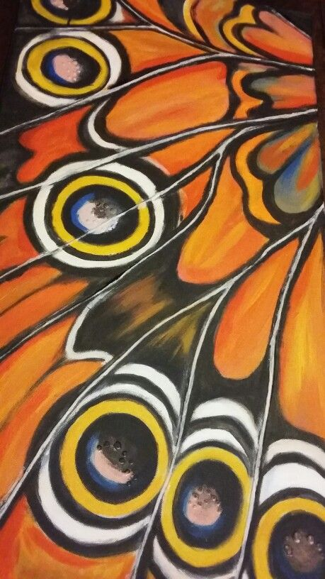 Butterfly wings by Shell Shaw