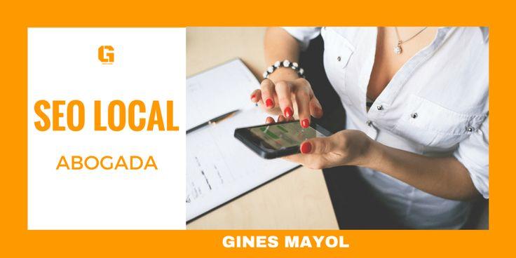 #Posicionamiento #SEO para una #Abogada en Murcia. El trabajo de SEO Local para un #abogado.