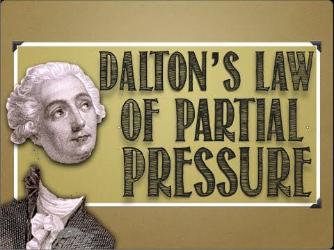 wk 24 Gases: Dalton's Law of Partial Pressure - YouTube