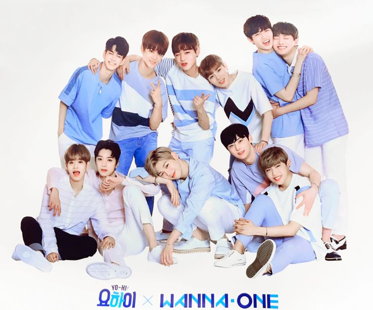 group ☆ wanna one