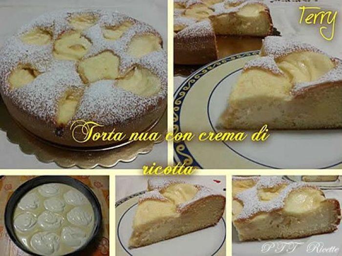 Torta Nua con crema di ricotta - PTT Ricette