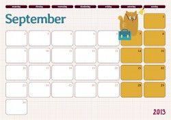 Maandkalender 2013-2014 – Klasse voor Ouders