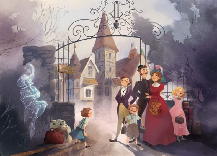 The Canterville Ghost 1 | Publishing | Drawn to better | Astound.us