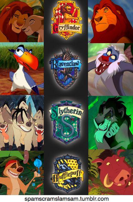 LOL Lion King/Harry PotterLionking, Lion King Movie, Lion Kings, Funny Stories, Disney House, Funny Photos, Harry Potter, Hogwarts House, Disney Movie