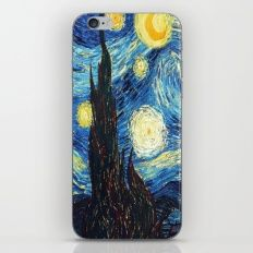 Stary Night iPhone & iPod Skin