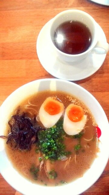 Chicken Ramen at Hakata Ikkousha,,,!!!