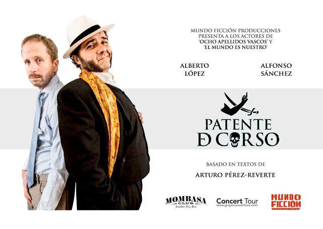 TEATRO EN VALENCIA: PATENTE DE CORSO: PÉREZ REVERTE LLEGA AL TEATRO