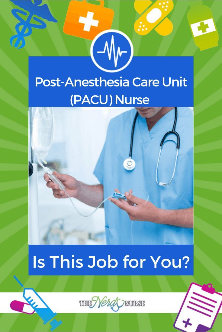 Post Anesthesia Care Unit Pacu Nurse Is This Job For You
