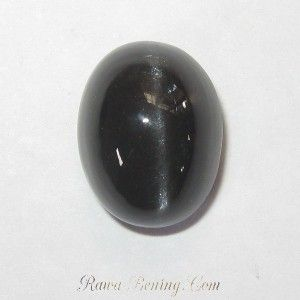 Batu Mulia Spectrolite Cats Eye 7.56 carat Natural Unheat