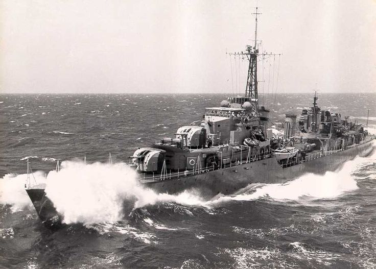 The Tribal class, or Afridi class, were a class of destroyers built for the Royal Navy, Royal Canadian Navy and Royal Australian Navy