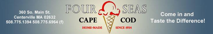 Four Seas Ice Cream - Cape Cod
