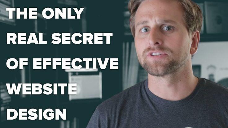 The Only Real Secret of Effective Website Design