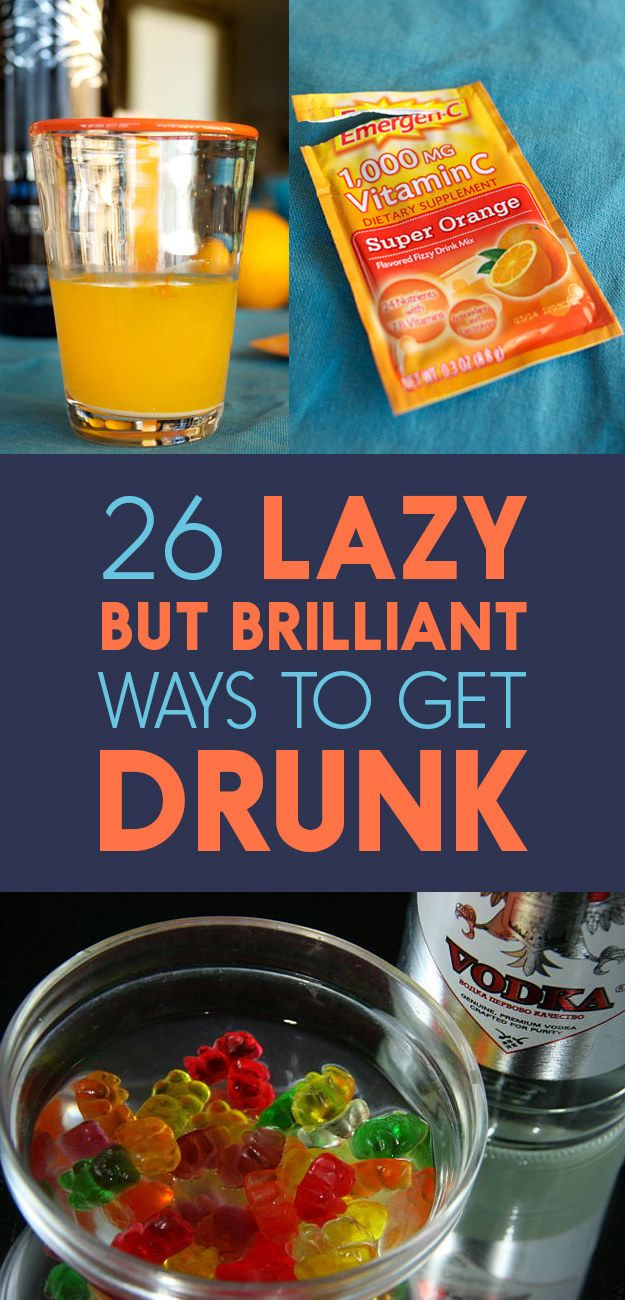 26 Lazy But Brilliant Ways To Get Drunk