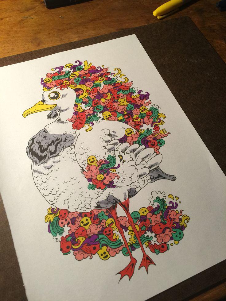 Doodle Invasion ColouringColoring BooksDoodle