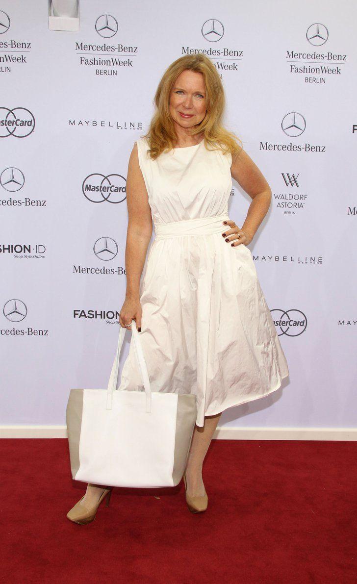 Pin for Later: Die Stars machen Berlin zum Mode-Mekka bei der Fashion Week Marion Kracht bei der Schau von Minx by Eva Lutz