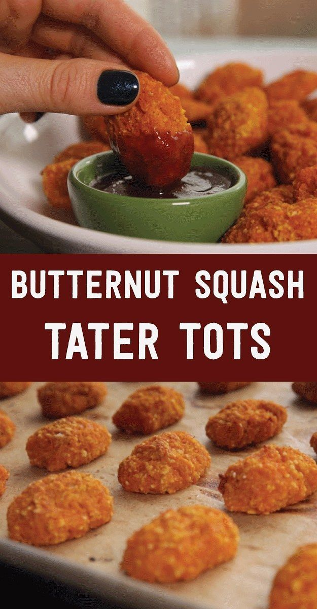 These Butternut Squash Tater Tots Are Healthy And So Much Fun   healthy recipe ideas @xhealthyrecipex