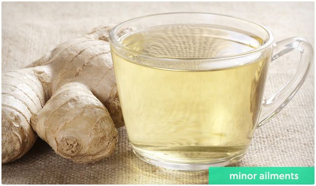 Benefits of ginger tea.