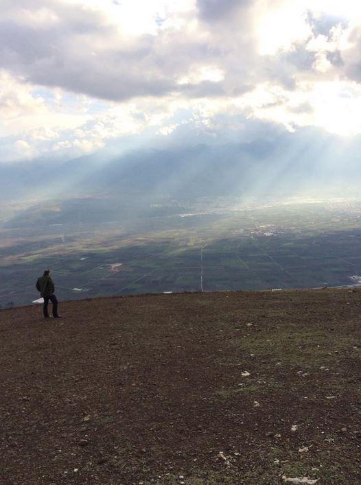 Bursa'da yalnız bir adam...