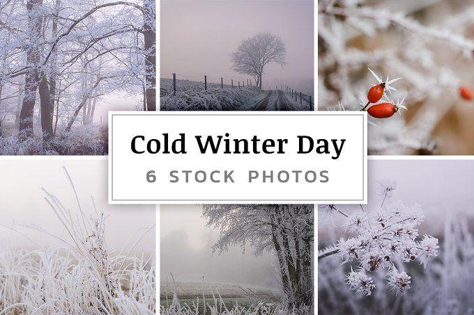 Cold Winter Day – 6 Stock Photos by PhotoMarket --> https://crmrkt.com/AXj79