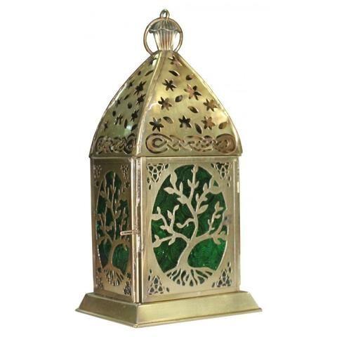 Tree of Life Gold Lantern - The Hippie House