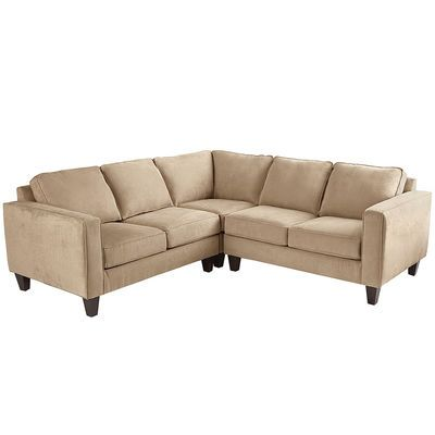 Genius is in the details, and our Alton sectional has a special genius for relaxation. Track arms, tapered legs and extra-thick cushions give it a modern feel. Underneath, a hardwood frame provides durability and integrity. As for the hand-upholstered fabric? Well, there are times when geniuses just have to show off.