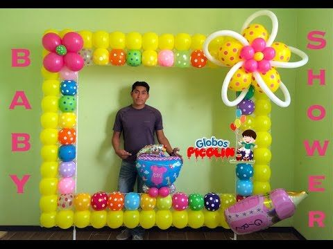 201 best decoraciones con globos images on pinterest for Decoracion con fotografias