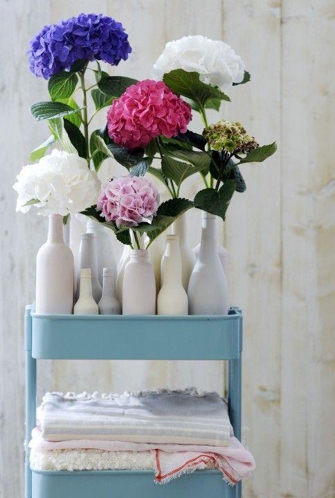 Groen wonen met Hortensia | Stijlvol Styling woonblog www.stijlvolstyling.com
