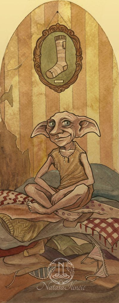 Dobby is a free elf! by UnripeHamadryad on DeviantArt