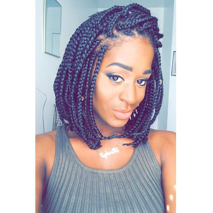 """These box braids have become my best friend..."""