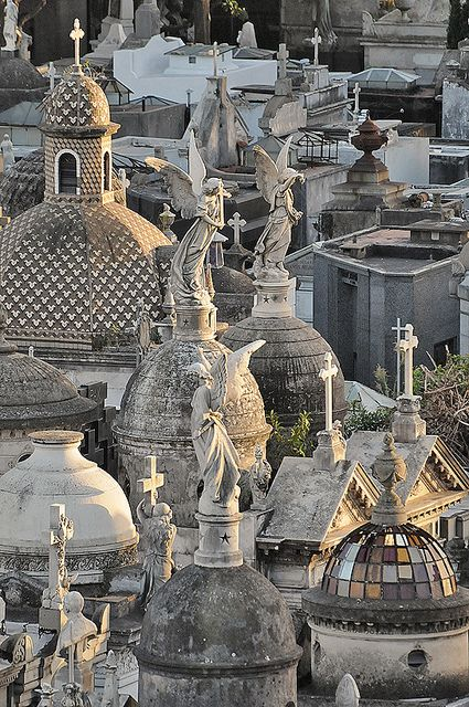 Recoleta Cemetery, Buenos Aires Angel