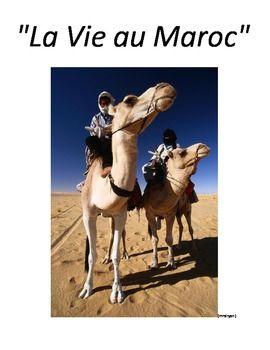 French/English - La vie au Maroc - Webquest, Sudoku and ac