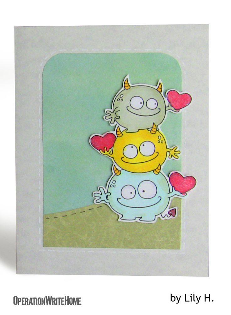 Monster love card!