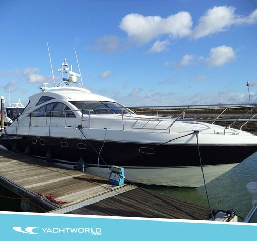 Browse: 2006 Fairline Targa 47 GT in Hayling Island, United Kingdom. £249,950. Can you guess how much power this beauty is packing?