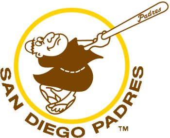 San Diego Padres - MLB.  I am a die hard cubs fan, but I love this throwback logo!