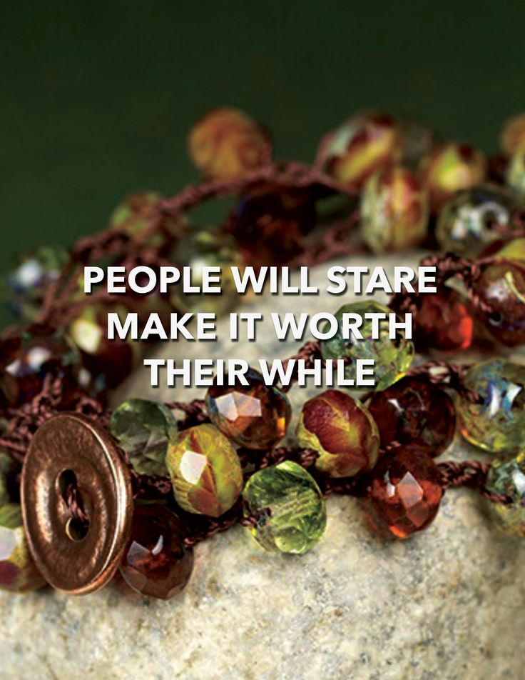 DIY: PEOPLE WILL STARE MAKE IT WORTH THEIR WHILE