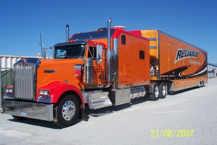 reliable moving truck big rigs pinterest car carrier beautiful and cars. Black Bedroom Furniture Sets. Home Design Ideas