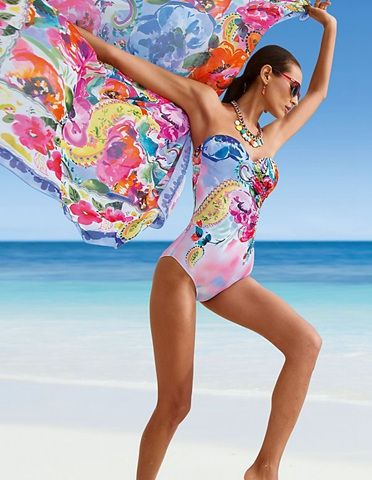 Image result for multi coloured swimming costumes