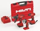 Hilti 14v drills, they outperform any 18v set I have used.