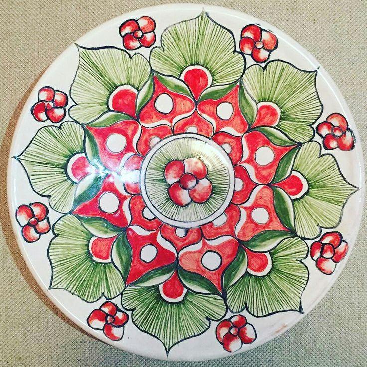 Тарелка - подарок на новый год. Merry Christmas plate 🌲🌲🌲