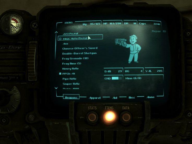 Fallout Classic Fonts by Yushatak