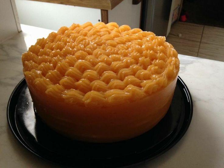 Torta panqueque de naranja 🍊