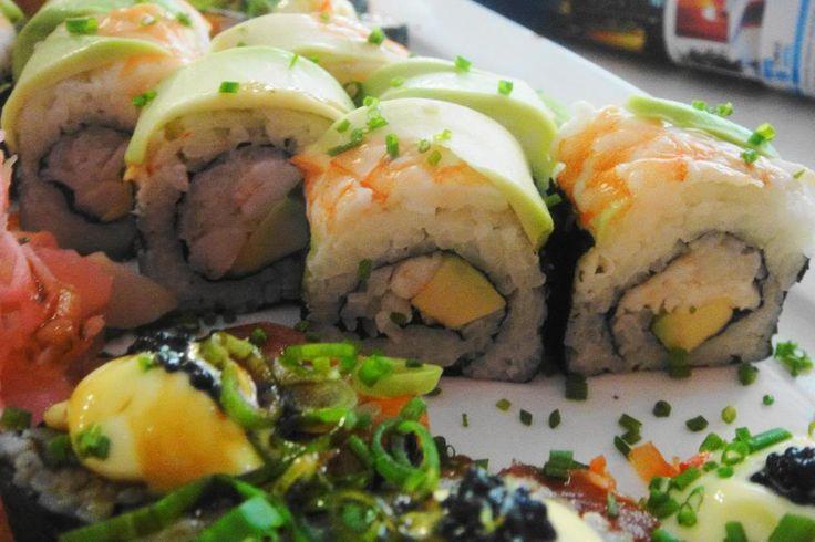 Nuri Sushi rolls