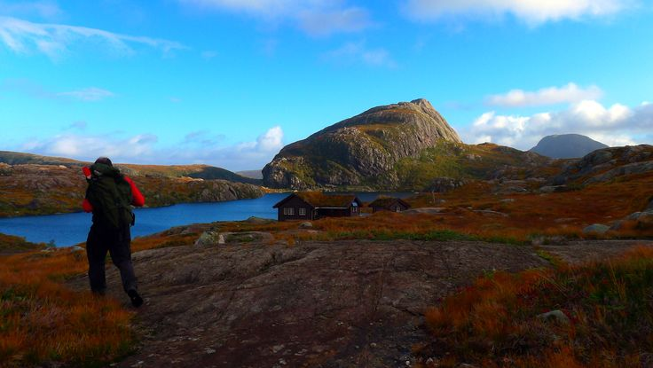 Nipebu in October. On the west coast of Norway