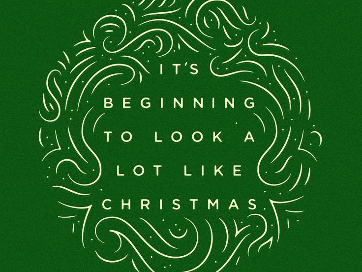 Merry Christmas  by Adam Dixon #Design Popular #Dribbble #shots