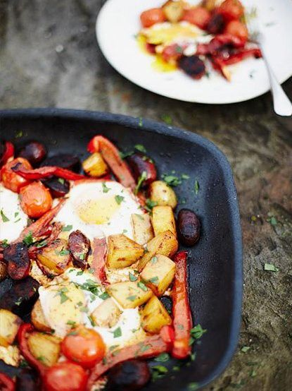 Morning After Breakfast   Eggs Recipes   Jamie Oliver Recipes