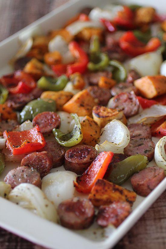 about Sausage And Potato Bake on Pinterest | Hillshire Farms Sausage ...