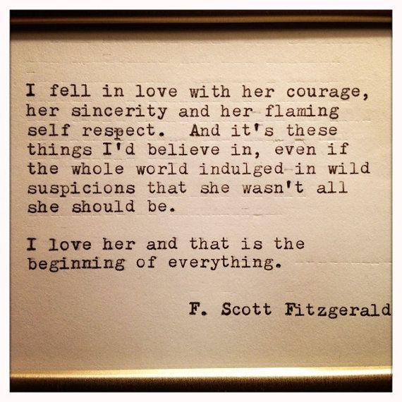 f scott fitzgerald love quotes - Google Search