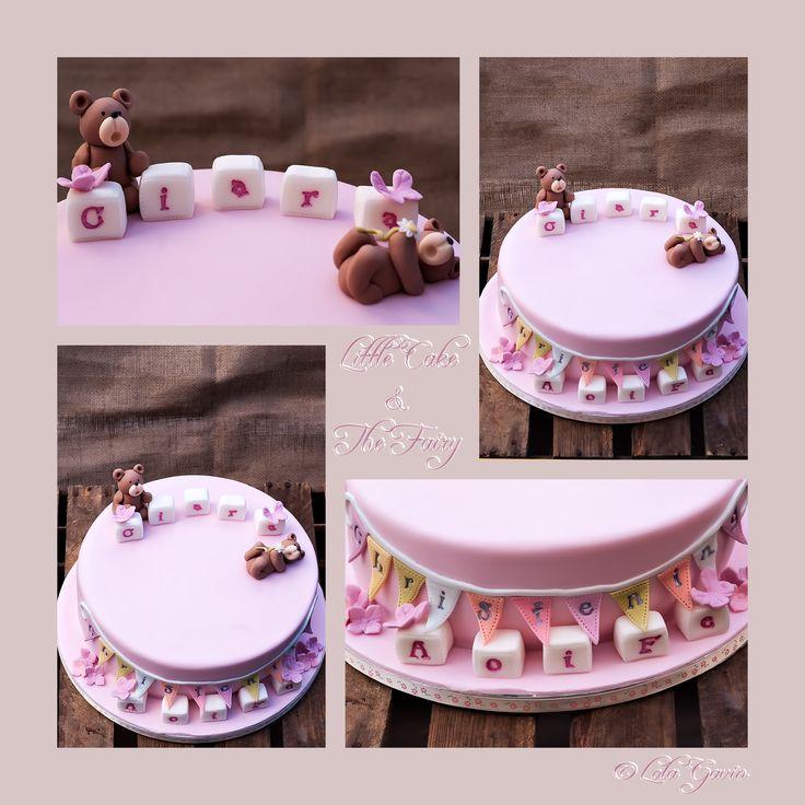 Ciara & Aoife's Christening Cake
