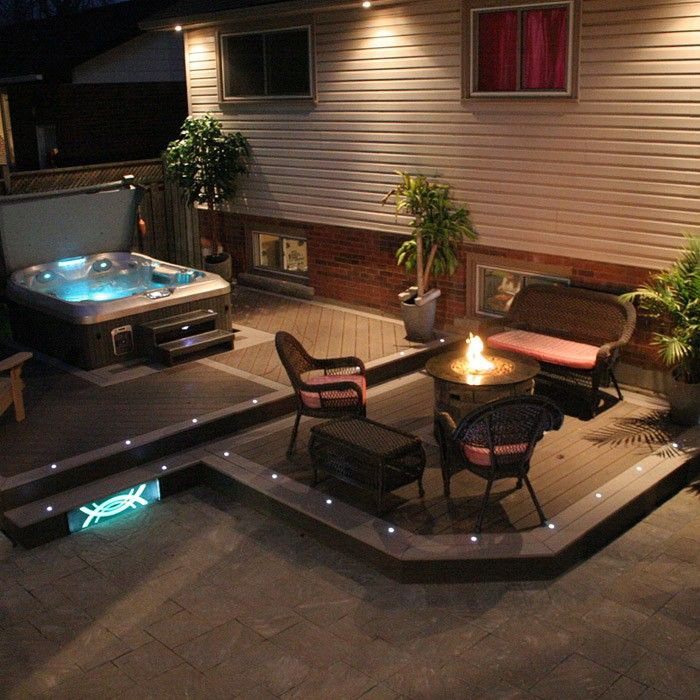 Outdoor Recessed Dek Dot LED Light Kit - LED Dock Lighting - Shop All Categories